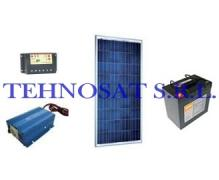 Sistem fotovoltaic independent 100 Wp
