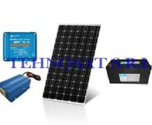 Sistem fotovoltaic independent 175 W