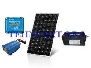 Sistem fotovoltaic independent 200 Wp