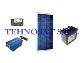 Sistem fotovoltaic independent 245 Wp