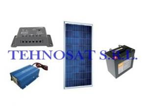 Sistem fotovoltaic independent 50 Wp